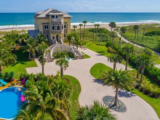 Ocean-to-River Estate ON.THE.BEACH!  < $100/night * bedroom (pool  + elevator!)