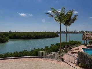 C) Private Luxury Single family home Reduced Rates - Resort style Pool & Dock