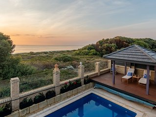 Luxury beach home, stunning views, pool