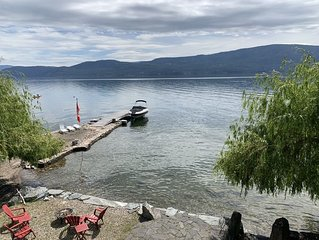 Water Front 2 bedroom suite.  In the heart of the  Okanagan, Killiney Beach