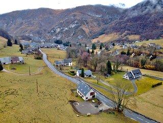 Agréable maison familiale 10 pers classée ***  située à 12km de La Mongie