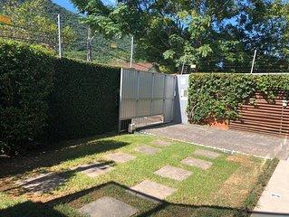 Estudio terreo mobiliado, casa fundos p/ o mar em Sto Antonio de Lisboa/Floripa