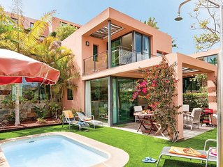 Golf course villa with pool and resort amenities.