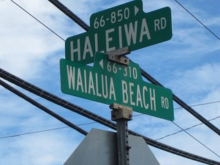 North Shore ( Waialua next to Haleiwa Town and Beaches )