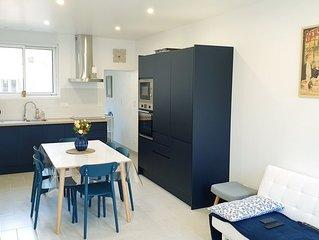 Maison 82m² rénovée 2020 / 3 ch / 5 pers / 200m Port Plage / Lits fait / 3*