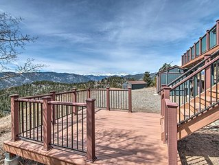 Idaho Springs House w/ Deck & Mountain Views!