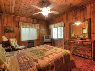 Nantahala Rafting Bear, 2 Bedrooms Sleeps 8