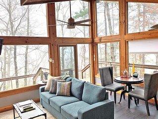 Free Estate Tour Passes + Modern Style Mountain Luxury Cabin + Hot Tub