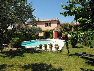 Villa Provencale, Piscine, 3 mn a pied Coeur Village