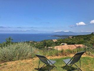 ☀️Promo + Linge inclus ! Mini-Villa 3 Pièces avec jardin, magnifique vue mer