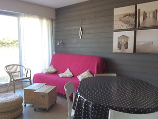 QUIBERON BRETAGNE SUD APPARTEMENT MER  (PORT HALIGUEN) WIFI