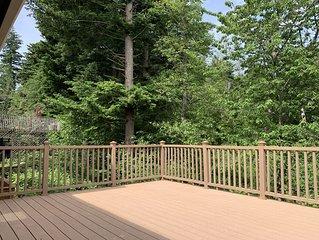 2nd Story Deck w/ jungle view, morning bird sounds