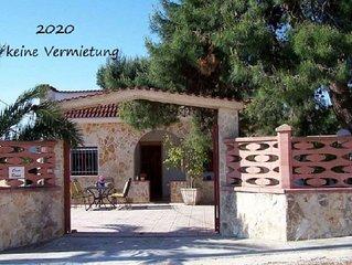 Ferienhaus Casa Roma in Apulien Dachterasse mit Meerblick