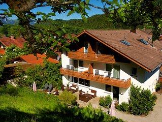 Fussen: Komfortables Ferienhaus in traumhafter Alpenrandlage