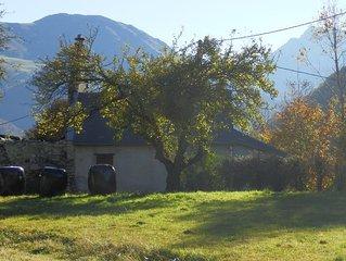 Petite maison en vallee de Campan.
