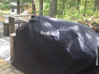 Log Cabin-Glam Camping