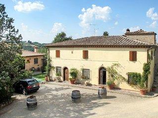 Ferienwohnung Bilocale (SGI140) in San Gimignano - 3 Personen, 1 Schlafzimmer