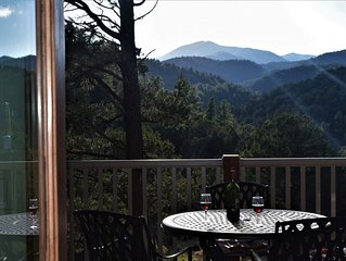 NEW 2018 Luxury Cabin! Upper Canyon Lookout-Sierra Blanca view close to town
