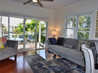 2 Bedroom and 2.5 Bath Village at Hawks Cay Villa 7011 with Private Patio Jacuzz