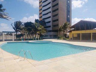 AP Vista Mar com Piscina em Fortaleza