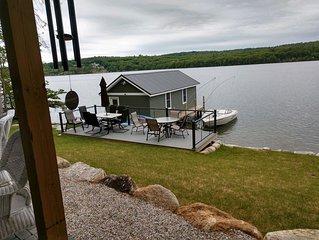 Lake House Apartment in Laconia NH on Paugus Bay, Lake Winnipesaukee
