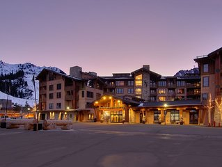 2 Bedroom, 2 Bathroom, Mnt Views, Ski In-Out, Steps From Squaw Valley Ski Resort