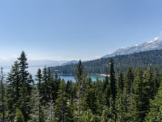 West Shore home with panoramic view of Lake Tahoe!