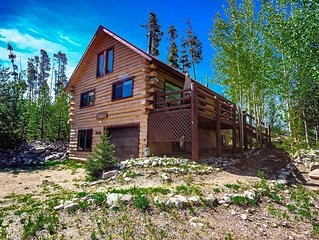 In town but with a secluded feel! Two bedroom with loft. Outdoor fire pit!