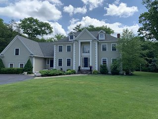 Exceptional Rye Beach Home Over 2 Acres (private backyard deck & gardens)