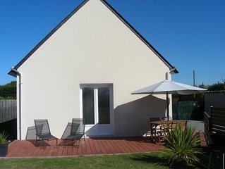 Agreable maison pour 8 personnes, piscine hors-sol privee, Finistere sud
