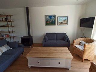 Maison bord de mer 4 chambres (120 m de la plage de Caroual)