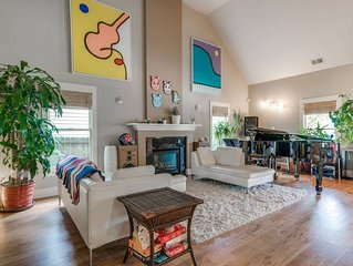 Best of Cabbagetown 3 bed, 2 bath w/grand piano, hot tub, putting green!