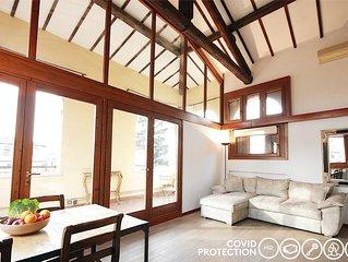 ☆ Luxury Apartment ☆ in centro Arena+magnifica terrazza!