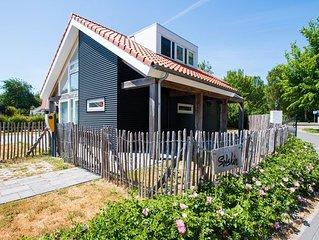 Zonnedorp 1 Modernes Strandhaus auf Villapark in Renesse