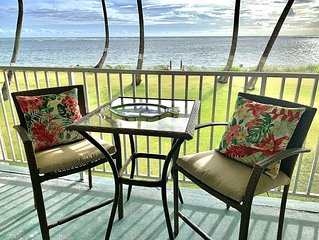 Beachfront, Spectacular Ocean View Condo Newly Remodeled, includes AC