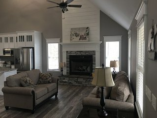 Show Home--Local Builder offers home to overnight guests.  Custom farm/craftsman