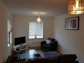 Serenity Stays- Primrose- A relaxing 2 bed 2 bathroom apartment