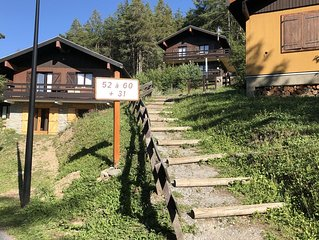 Ruim, 6-persoons chalet met prachtig uitzicht in La Norma, Franse Alpen