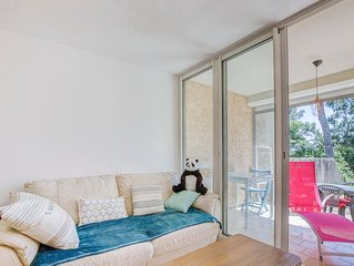 Le Tamaris - Studio 25 m² avec terrasse proche mer