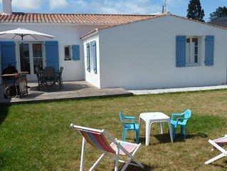 Escapade à Noirmoutier: maison totalement rénovée en 2017