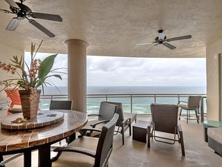 Luxury Oceanfront 3BR 3.5B Condo 2900-huge balcony/sweeping views-Tesla Charger