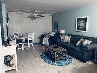 Newly Renovated ~ Beautiful Luxury Ocean Condo Steps to Golf Course and Ocean