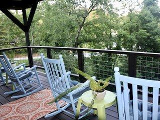 Walk to Lake Junaluska*Blue Jay Haven*Bonus nook w/ bunk beds*Newly remodeled