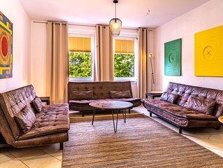 Großzügige Etagenwohnung mit 30 qm Grillterrasse auf 150 qm