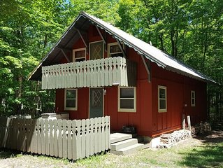 **Under new ownership!** Creekside ski chalet near Big Powderhorn Mountain