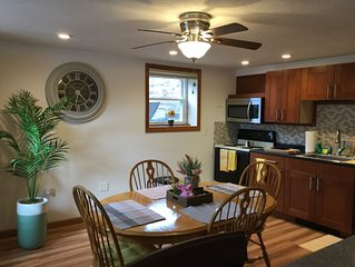 Located north of Boston/ comfort and relaxation in your home away from home