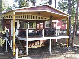 Cozy, Rustic Pine Ridge Cabin with beautiful views - Midtown Ruidoso