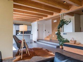 """Modernes Ferienhaus """"Haus Lichtenstern"""" mit WLAN, Balkon, Bergblick und wundersc"""