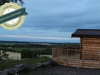 Exclusive and stylish with stunning views from your private Hot Tub