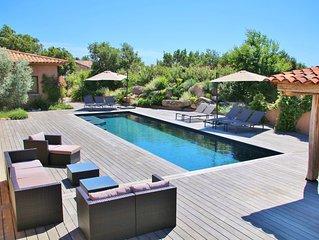 Villa 300m² 10 personnes à Porto-Vecchio, clim, piscine.